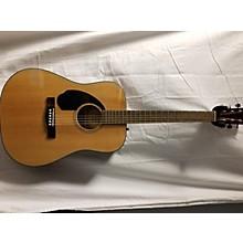 Fender CD60 Dreadnought Left Handed Acoustic Guitar