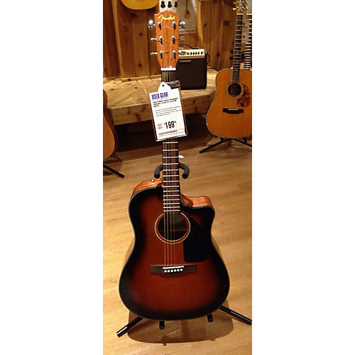 Fender CD60CE Mahogany Acoustic Electric Guitar