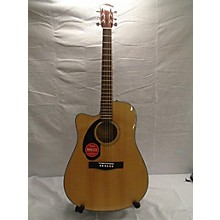 Fender CD60SCE LH Acoustic Electric Guitar