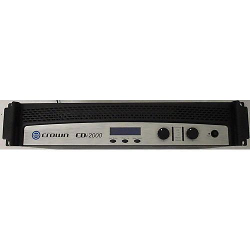 Crown CDI2000 Power Amp