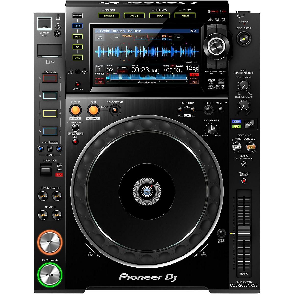 Pioneer CDJ-2000NXS2 Professional DJ Multi-Player