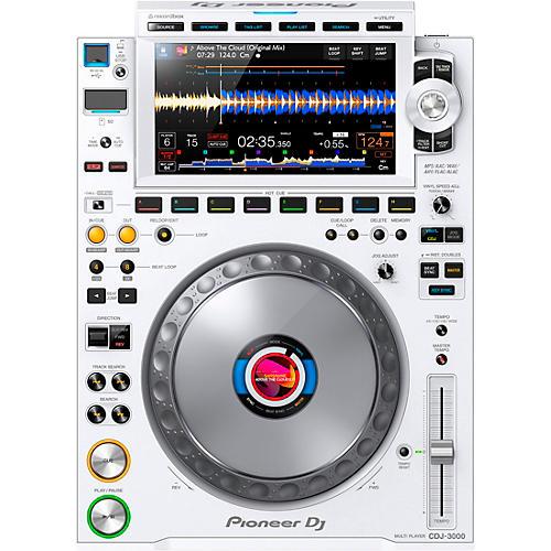Pioneer DJ CDJ-3000-W White Professional DJ Media Player