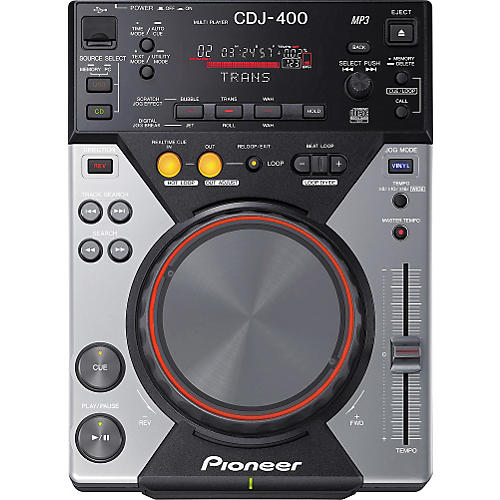 pioneer cdj 400 pro cd player with usb and effects guitar center. Black Bedroom Furniture Sets. Home Design Ideas