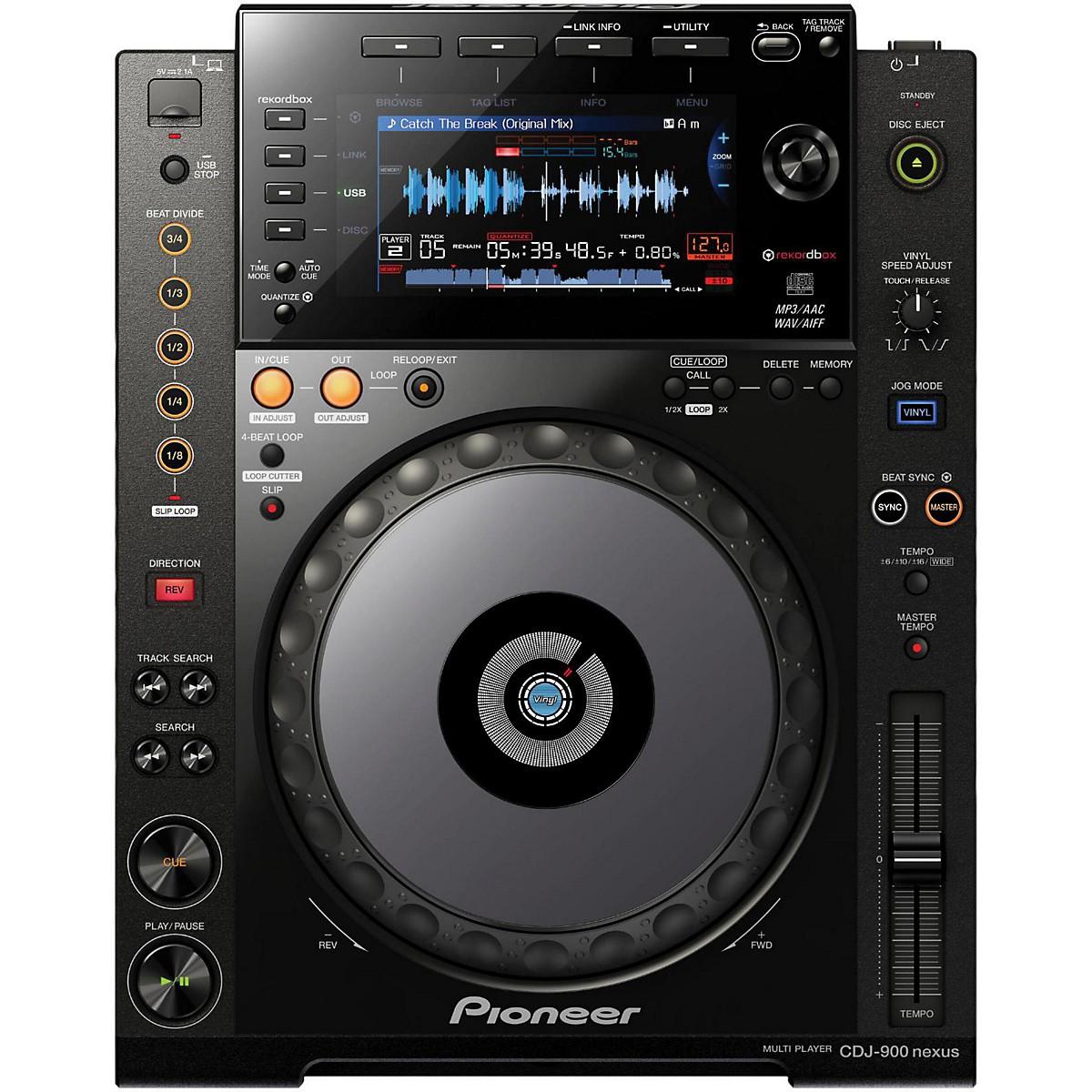 Pioneer CDJ-900 Nexus Performance Tabletop Digital Multi-Player