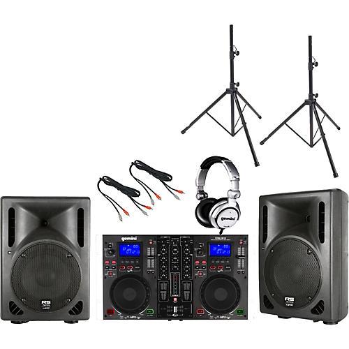 Gemini CDM-3610 / RS-410 DJ Package