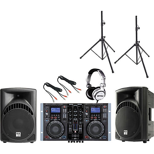 Gemini CDM-3700G / RS-410 DJ Package