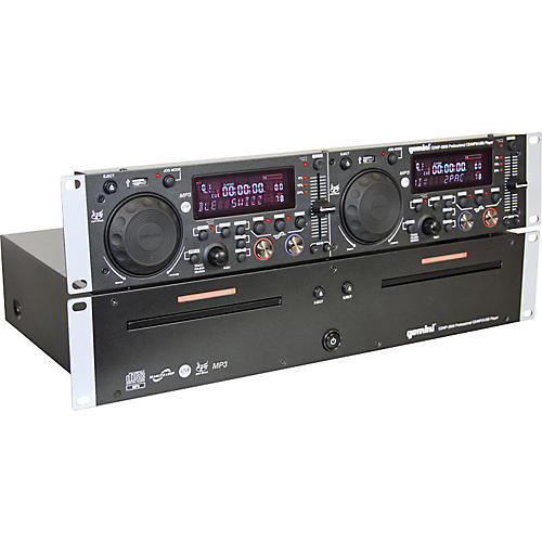 Gemini CDMP-2600 Dual CD/MP3 USB Player