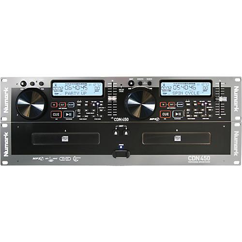 Numark CDN450 Rack Mount Professional Dual MP3/CD Player