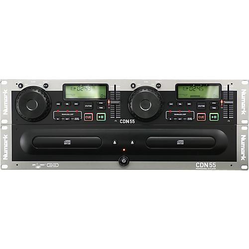 Numark CDN55 Rack Mount Professional Dual CD Player