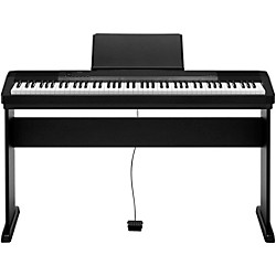CDP-135 88-Key Digital Piano with Wood Stand and Sustain Pedal Black