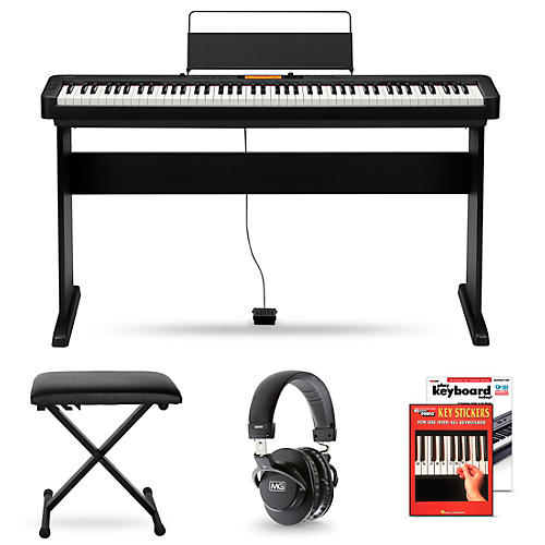 Casio CDP-S350CS Digital Piano and Matching Stand Package