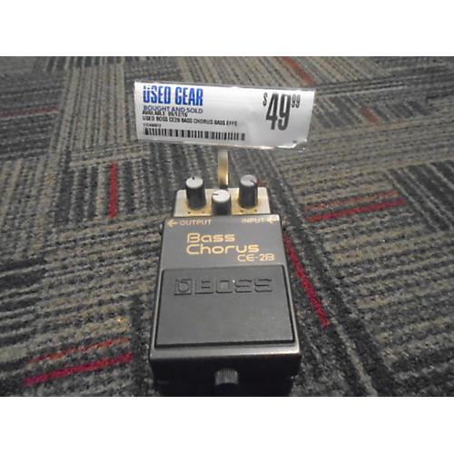 Boss CE2B Bass Chorus Bass Effect Pedal