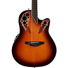 CE48 Celebrity Elite Acoustic-Electric Guitar Transparent Sunburst
