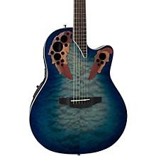 CE48P Celebrity Elite Plus Acoustic-Electric Guitar Transparent Regal to Natural