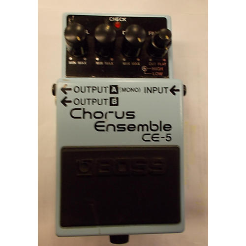 Boss CE5 Chorus Ensemble Blue Effect Pedal