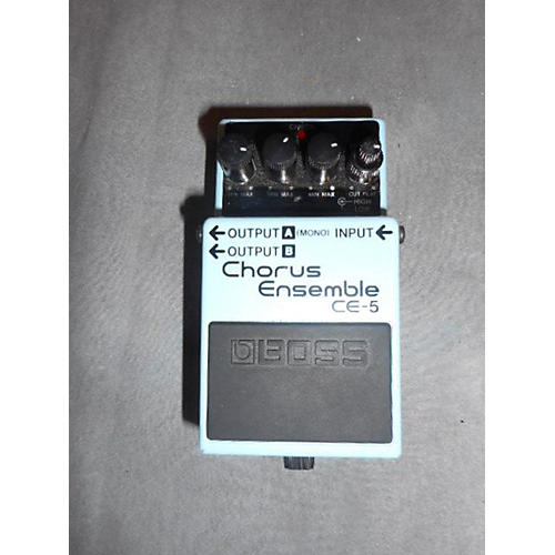 Boss CE5 Chorus Ensemble Blue Effect Pedal