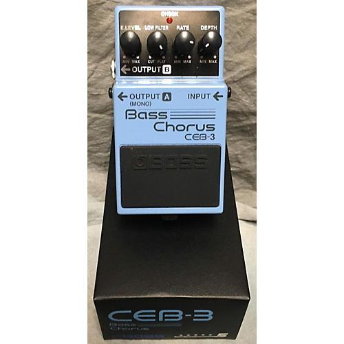 Boss CEB-3 BASS CHORUS Bass Effect Pedal