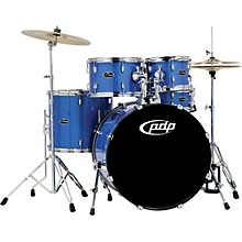 PDP by DW CENTERstage 5-Piece Drum Set with Hardware and Cymbals Sapphire