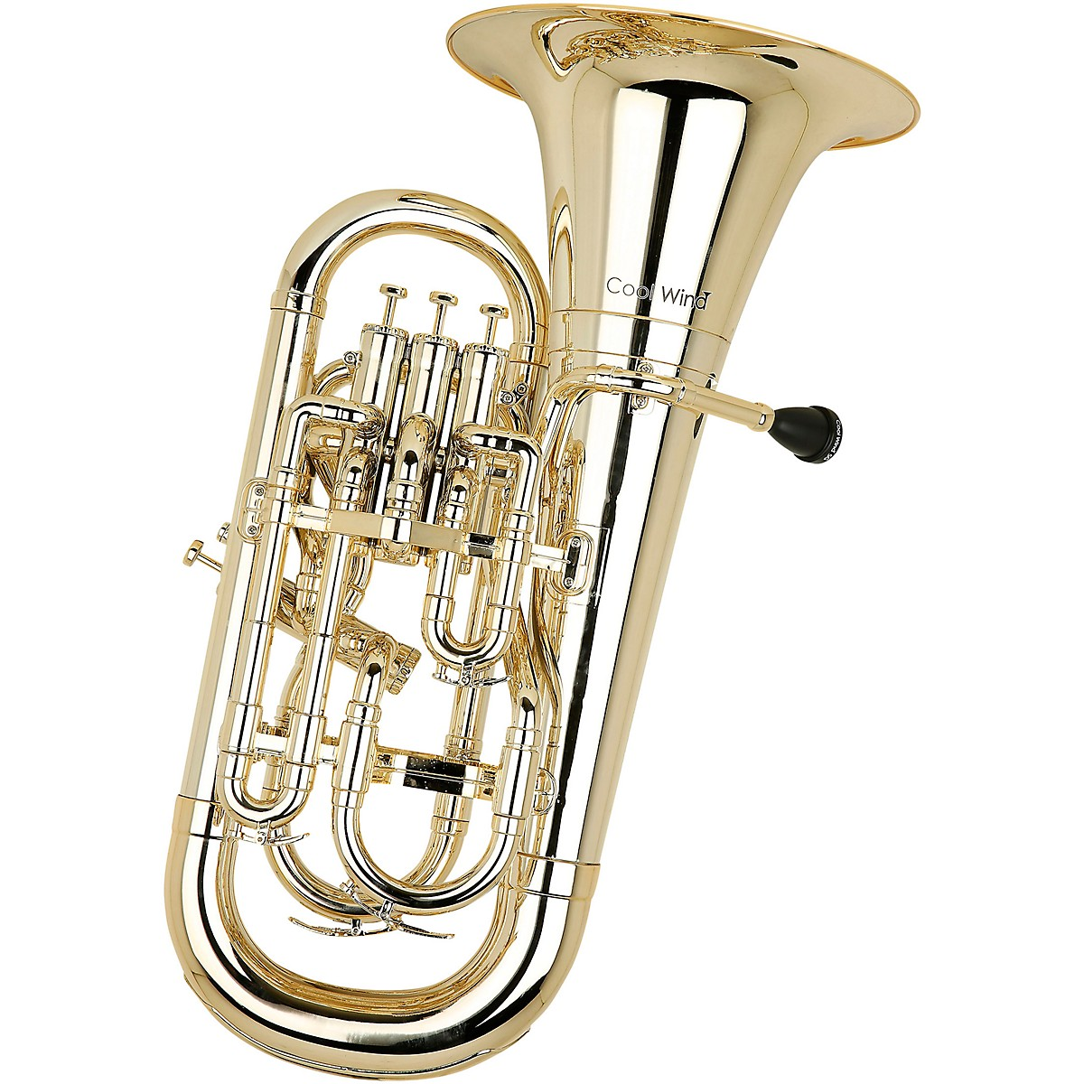 Cool Wind CEU-200 Metallic Series 4-Valve Plastic Euphonium