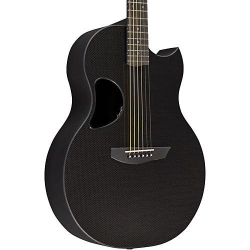 Kevin Michael Carbon Fiber Guitars CF-SABLE Extended Range Acoustic-Electric Guitar