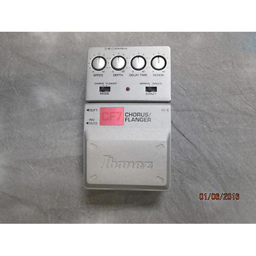 Ibanez CF7 Chorus/Flanger Effect Pedal