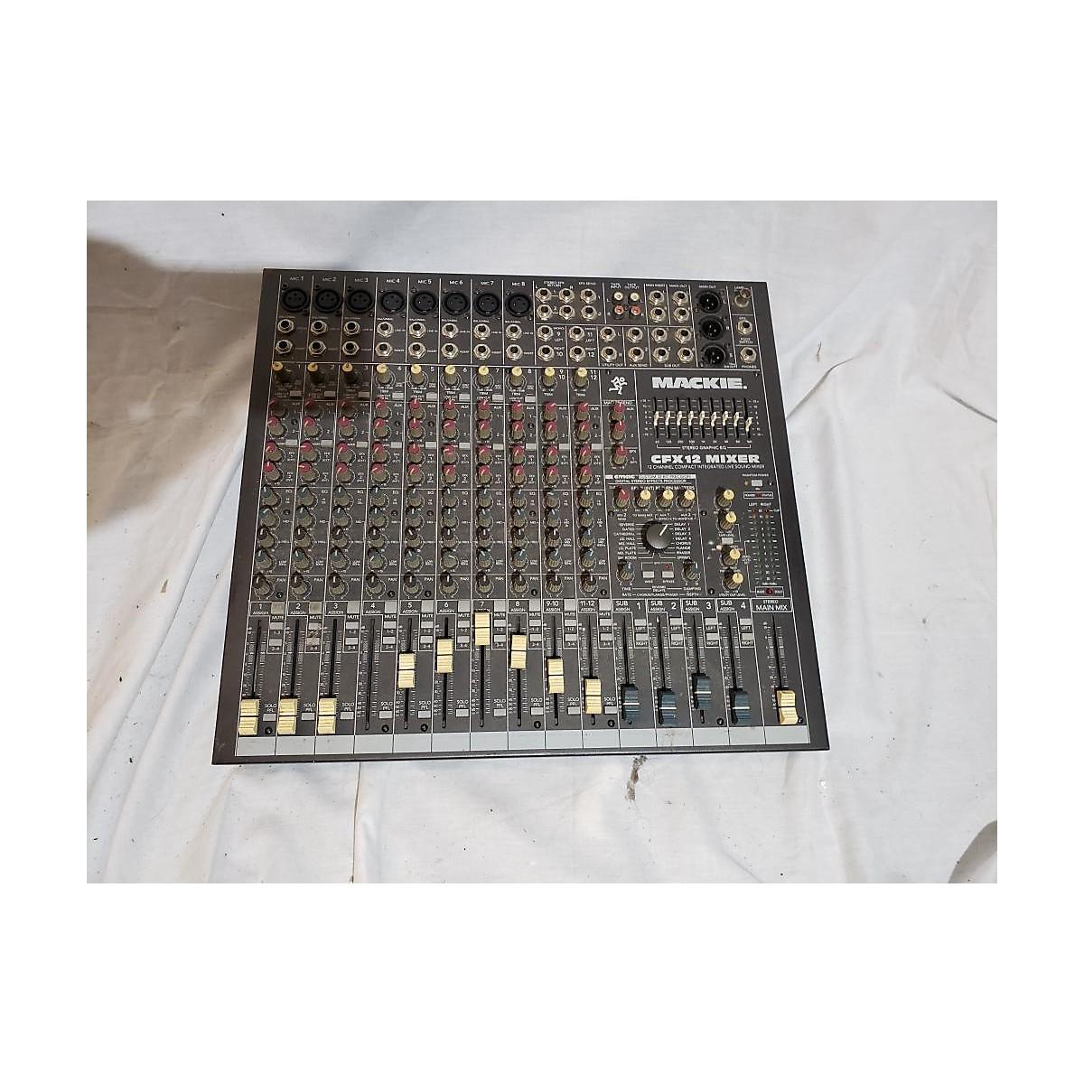 Mackie CFX12 Powered Mixer