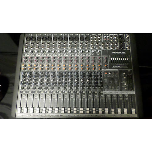 Mackie CFX16 MKII Unpowered Mixer
