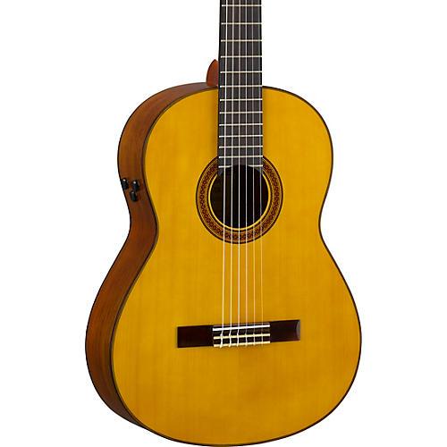 Yamaha CG-TA TransAcoustic Nylon-String Acoustic-Electric Guitar