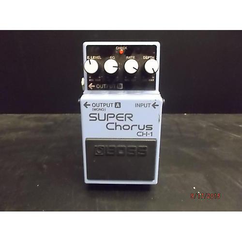 Boss CH1 Super Chorus Baltic Blue Effect Pedal
