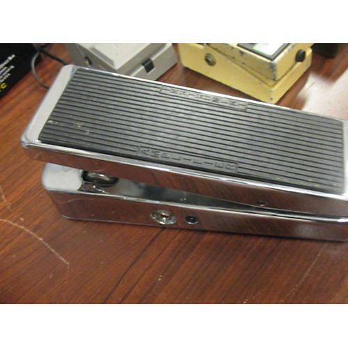 Dunlop CHROME WAH Effect Pedal