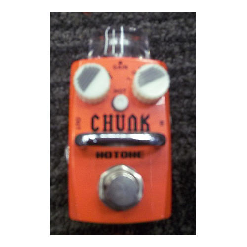 In Store Used CHUNK Candy Apple Red Effect Pedal