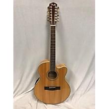 Fender CJ290SCE12 Jumbo 12 String Acoustic Electric Guitar