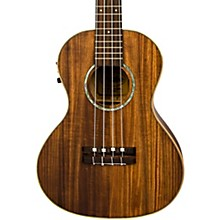 Lanikai CKTU-TEK TunaUke Curly Koa Tenor Acoustic-Electric Ukulele