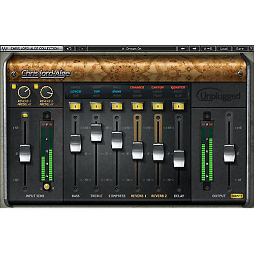 Waves CLA Unplugged Native Chris Lord-Alge Plug-In Software Download