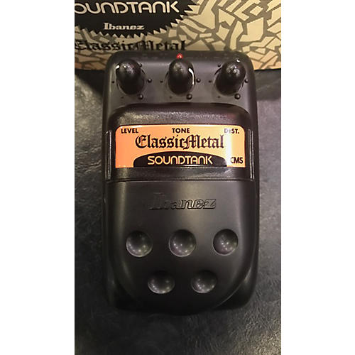 Ibanez CLASSIC METAL DISTORTION Effect Pedal