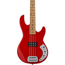 CLF Research L-1000 Electric Bass Maple Fingerboard Rally Red