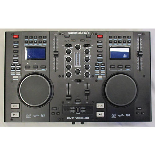 Gem Sound CMP- 1200 Midi DJ Player
