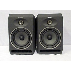 used focal cms 65 pair powered monitor guitar center. Black Bedroom Furniture Sets. Home Design Ideas