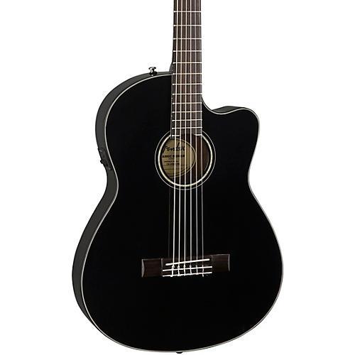 fender cn 140sce with case nylon string acoustic electric guitar black guitar center. Black Bedroom Furniture Sets. Home Design Ideas