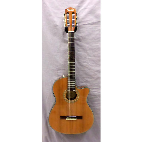 Fender CN-240SCE Thinline Classical Acoustic Electric Guitar