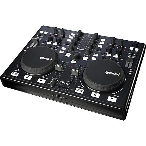 Gemini CNTRL-2 USB/MIDI DJ Mixer & Controller with Sound Card