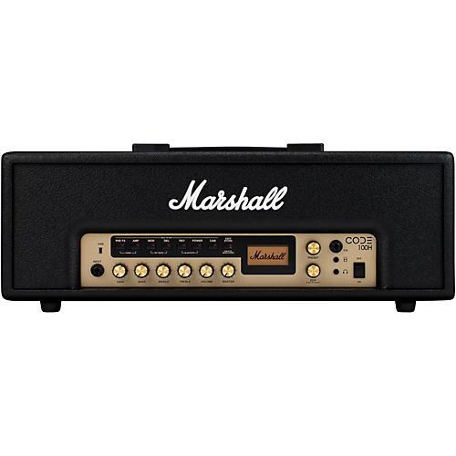 marshall code 100w guitar amp head black guitar center. Black Bedroom Furniture Sets. Home Design Ideas