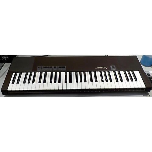 used yamaha cp7 61 key digital piano guitar center. Black Bedroom Furniture Sets. Home Design Ideas
