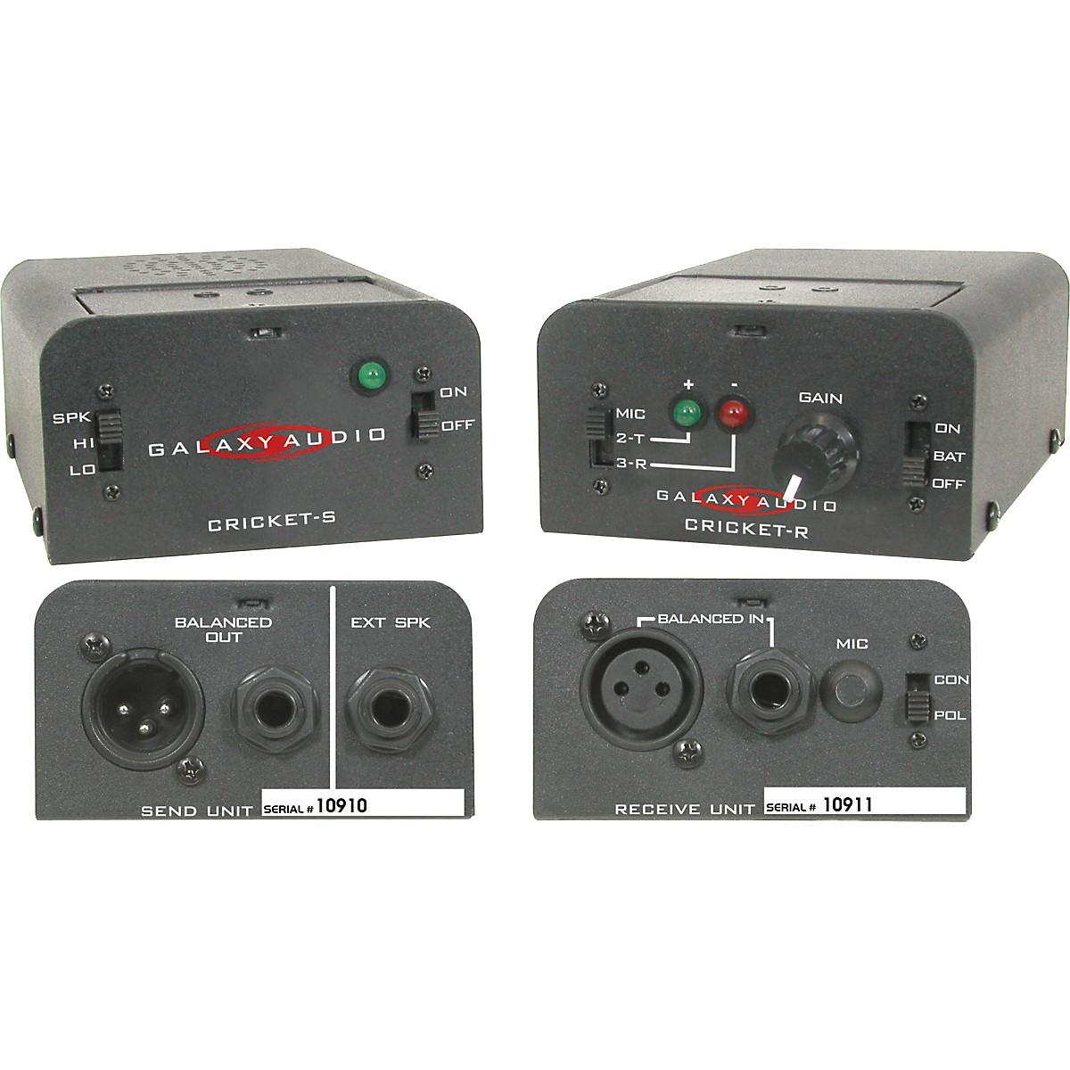 Galaxy Audio CPTS0000 Cricket Polarity Test Set