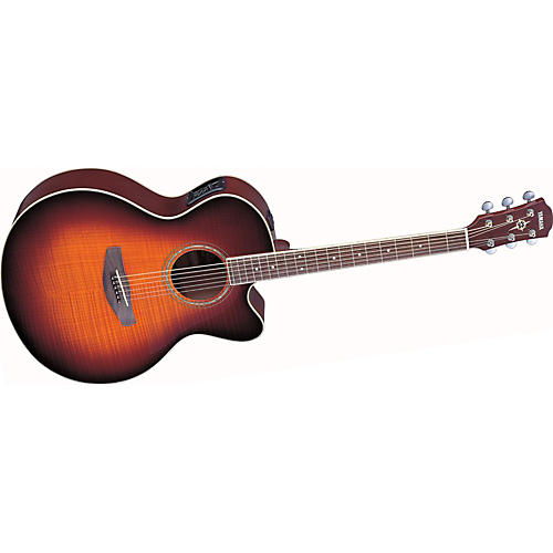 yamaha cpx500fm cutaway acoustic electric guitar old violin sunburst guitar center. Black Bedroom Furniture Sets. Home Design Ideas