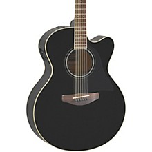 CPX600 Medium Jumbo Acoustic-Electric Guitar Black