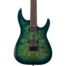 CR-6 Electric Guitar Aquaburst