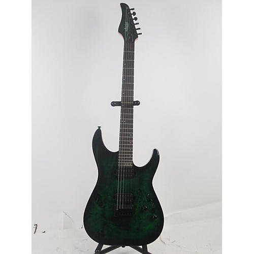 used schecter guitar research cr 6 solid body electric guitar emerald green guitar center. Black Bedroom Furniture Sets. Home Design Ideas