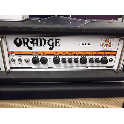 Orange Amplifiers CR120H Crush Pro 120W Black Guitar Amp Head