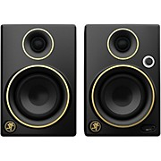CR3 Limited Edition Gold Trim 3 in. Multimedia Monitors (Pair)